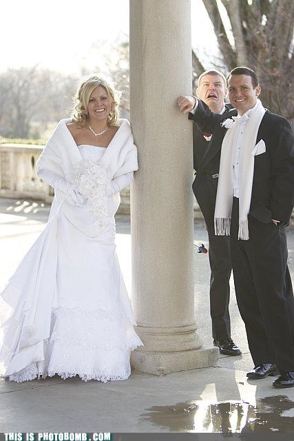 awesome face classic dress objection photobomb tuxedo wedding - 4368349952