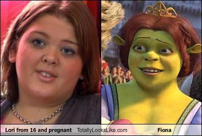 16 and Pregnant fiona lori shrek TV