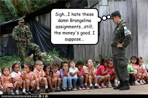 Angelina Jolie brad pitt brangelina kids money soldiers - 4368727552
