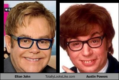 actor austin powers elton john mike myers singer