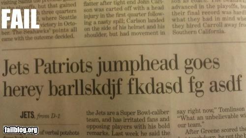 failboat football g rated headline news sports - 4368784384