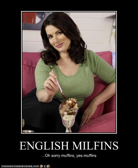 ENGLISH MILFINS ...Oh sorry muffins, yes muffins