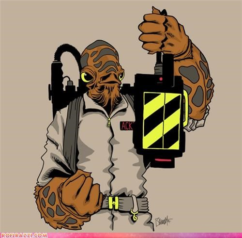 art funny Ghostbusters Hall of Fame sci fi star wars - 4369011712