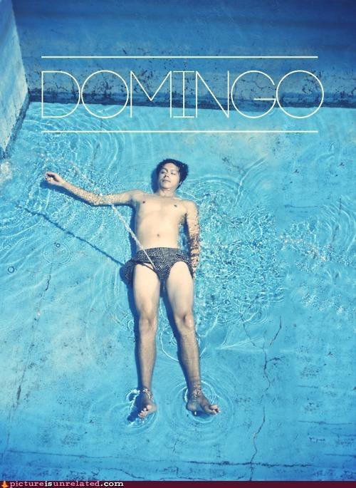 peeing pool swimming wtf - 4369085696