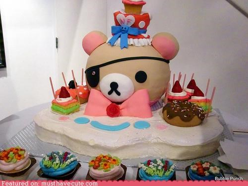 bear cake epicute kawaii Rilakkuma - 4369093376