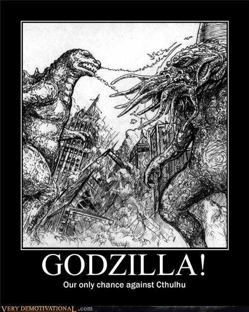 cthulhu,godzilla,monster