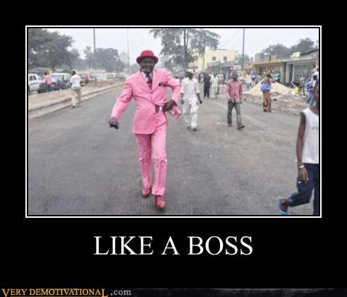 awesome boss pink style suit - 4369702656