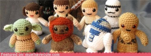 Amigurumi,characters,crochet,Movie,star wars