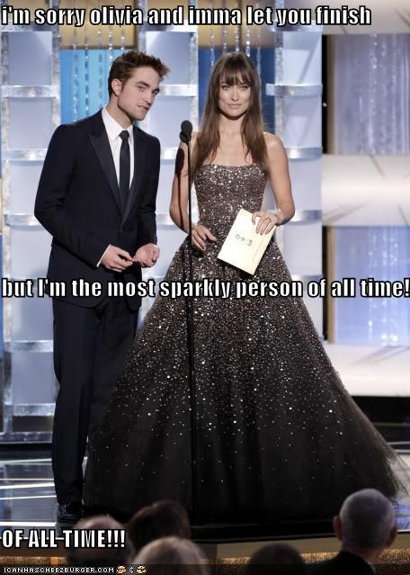actor celeb funny olivia wilde robert pattinson