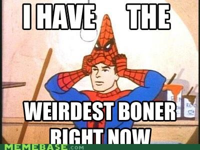 comic book costume Memes note the bone peter parker spideman - 4370064896