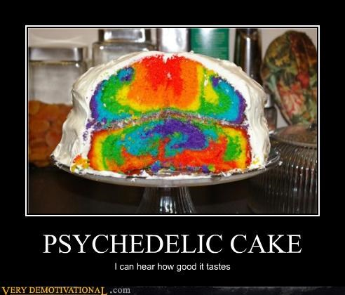awesome cake nom nom nom psychedelics TRIPPING OUT - 4370839808