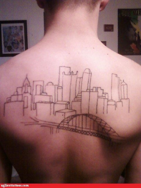cities,bad,funny,tattoos