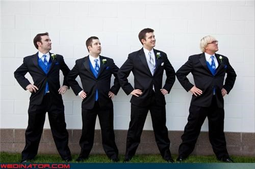 crazy groom,fashion is my passion,funny groomsmen picture,funny wedding photos,groom,Groomsmen,stylin-groomsmen,superhero groom stance,superhero groomsmen stance,to-the-rescue,wedding party