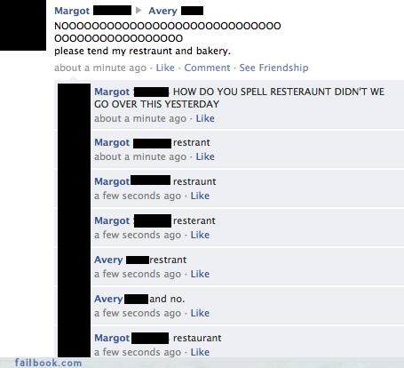 denied facepalm spelling stupid facebook games - 4372359168