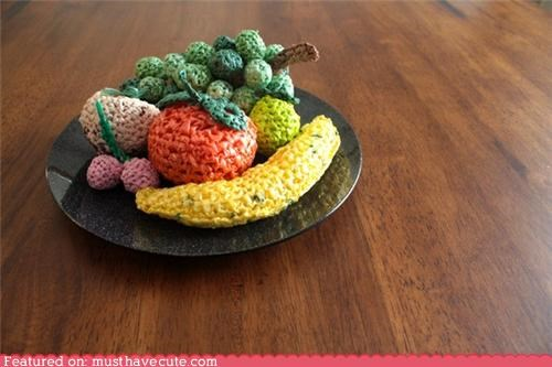 decor,fruit,plastic bags,Recycled,repurposed,trash