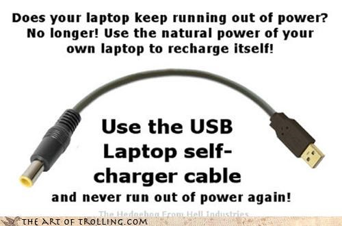 cable charger computer current IRL laptop power USB