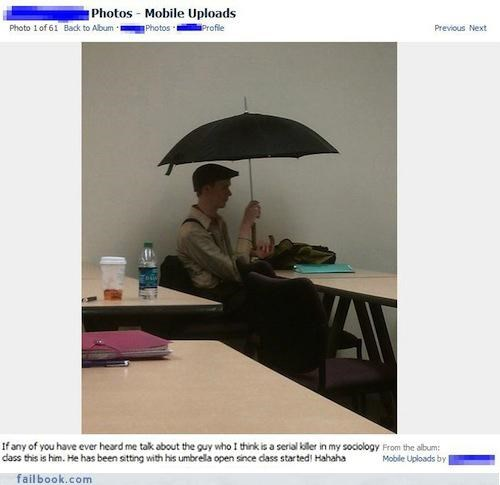 classmates pictures serial killers umbrellas