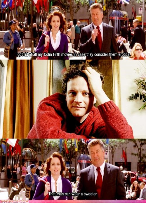 30 rock Colin Firth comic funny Hall of Fame - 4373115904