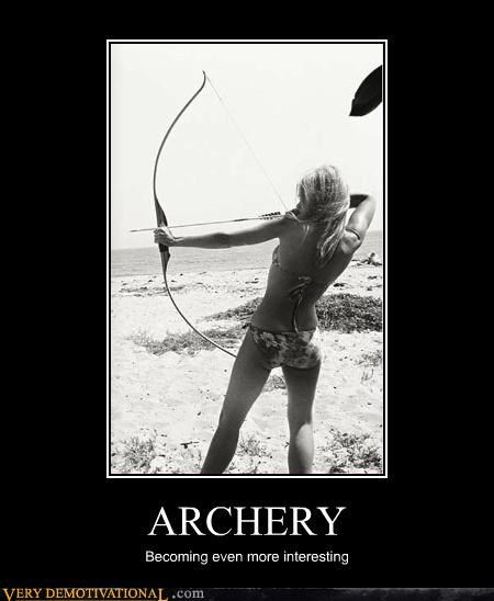 Sexy Ladies interesting bikini archery - 4374408192