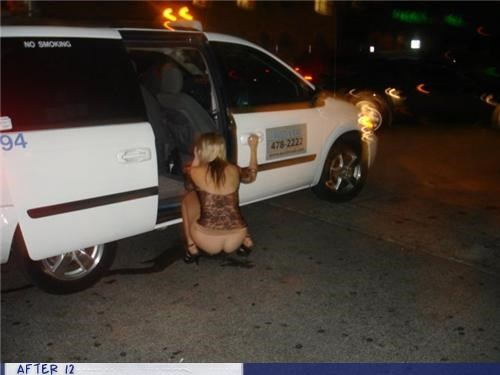 cab,no pants,pee,van,wtf