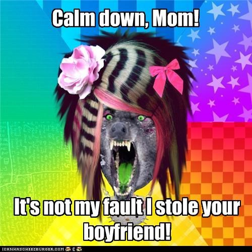 calm down scene wolf stole your boyfriend - 4375044864