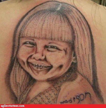 bad funny tattoos - 4375609856