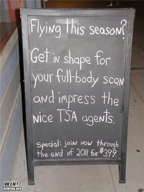 advertisement awesome at work signs Travel TSA - 4376100608