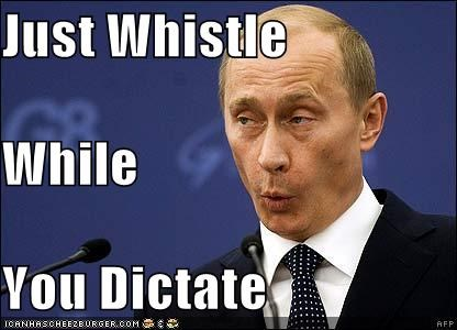 dictator russia snow white Vladimir Putin vladurday whistle whistle while you work - 4376109824