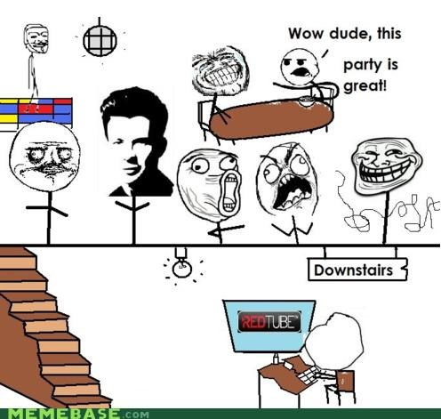 basement Memes Party - 4376183040