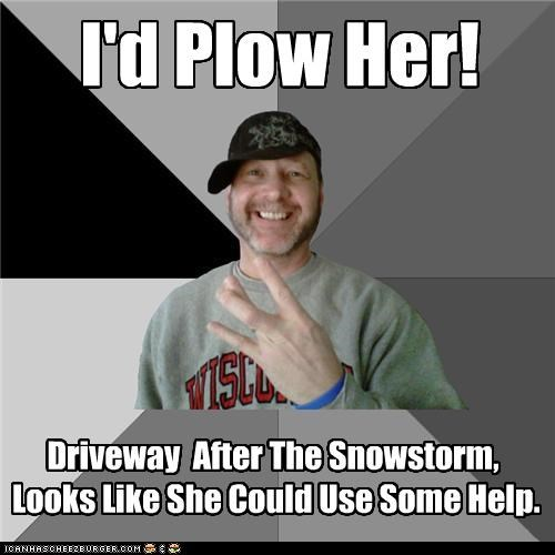 hood dad plowing snow - 4376562176