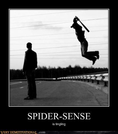 Spider-Man tingling spider sense - 4376902912