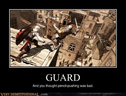 job guard Office assassins creed - 4377262592