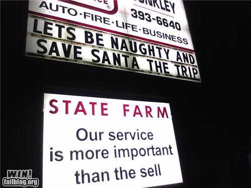 awesome at work naughty santa signs - 4377274880