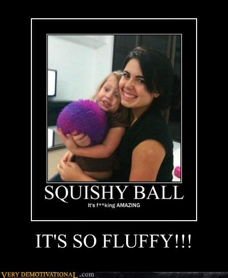 kid squishy Fluffy ball - 4377491968