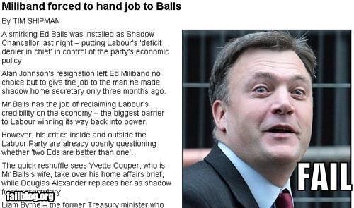 balls failboat headline innuendo jobs Probably bad News - 4377518080