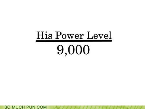 9000 dragonball dragonball z its level meme over power power level scouter vegeta - 4378414592