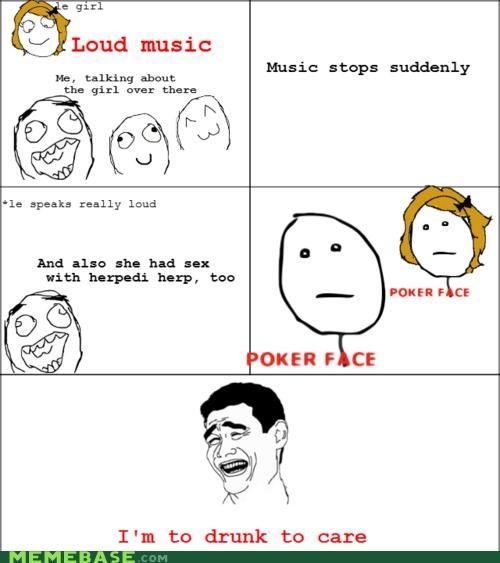 drunk gossip loud music Memes Party - 4378683136