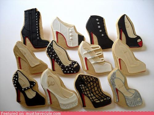 cookies,details,epicute,icing,louboutin,shoes