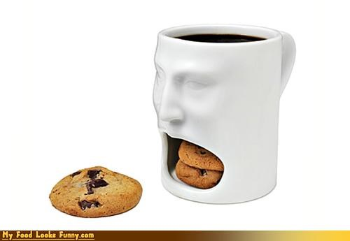 cookies face mouth mug - 4378765056