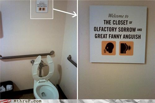 bathroom funny signs welcome