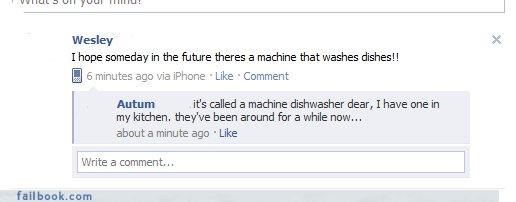 dishwashers facepalm stupid technology - 4379322624