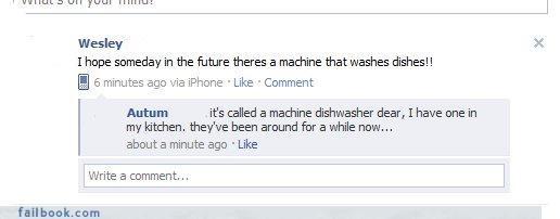 dishwashers facepalm stupid technology - 4379322624