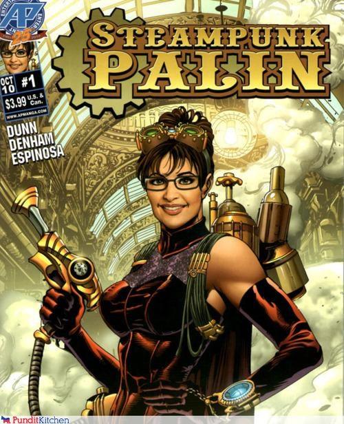 comics Sarah Palin Steampunk steampunk palin - 4379654656