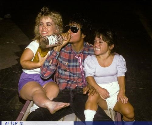 michael jackson,midget,Party,smirnoff,sunglasses