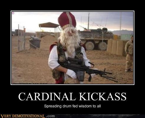 kicka,cardinal,gun,army