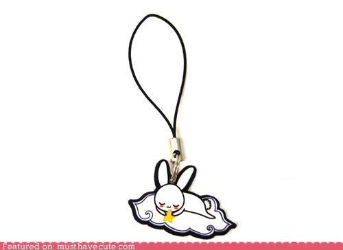 bunny charm phone sleepy star - 4380700160