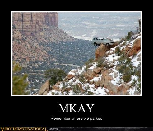 MKAY Remember where we parked