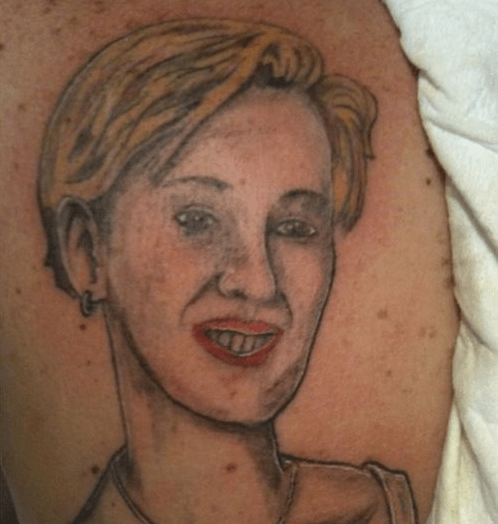 bad portraits tattoos funny - 4381332992