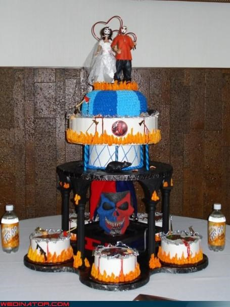 bride clown wedding cake Crazy Brides crazy groom crazy Juggalo cake Dreamcake eww fashion is my passion funny wedding photos groom Juggalo wedding Juggalo wedding cake scary Juggalo cake scary wedding cake were-in-love Wedding Themes white trash wedding whoa wtf - 4381890560
