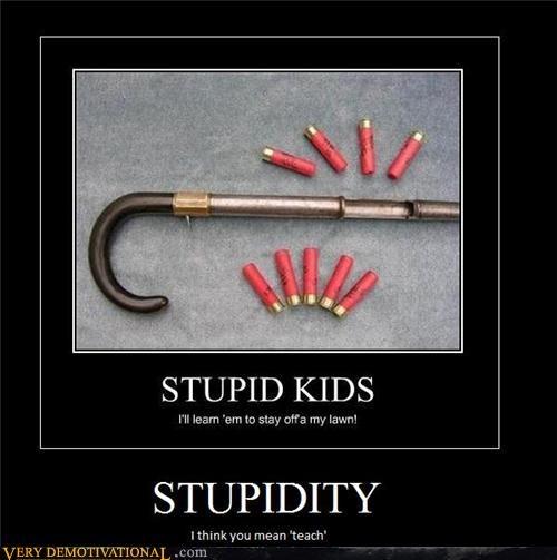 gun shotgun idiots stupidity - 4382389760
